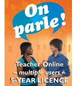 On parle! Online Teacher Licence (Multiple)