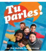Tu parles!1 Online  Multiple Teacher License (1 Year)
