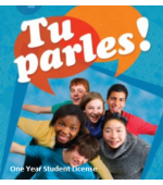 Tu parles!1 Online Student License (1 Year)