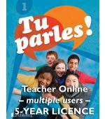 Tu parles!1 Online Multiple Teacher Licence (5 Year)