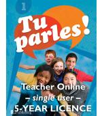 Tu parles!1 Online Teacher Licence (Single)