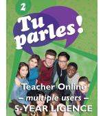 Tu parles!2 Online Multiple Teacher Licence (5 Year)