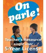 On parle! Online Teacher Licence (Single)