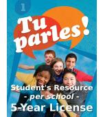 Tu parles!1 Online Student Licence