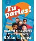 Tu parles!1 Online Teacher Licence (Multiple)
