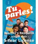 Tu Parles!1 Teacher's Resource Single