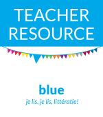 BLUE TEACHER RESOURCE