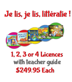 TEACHER Je Lis! Online CDN School Licence - 1-4 w Teacher Guide