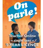 On parle! Online Single Teacher Licence (5 Year)