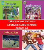 Trésor Home Edition 3 Online Audio Readers