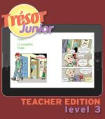 Trésor Teacher Edition 3 Online Audio Readers
