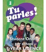 Tu parles!2 Online Student Licence (5 Year)