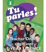 Tu parles!2 Online Single Teacher Licence (5 Year)