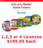 Je Lis! Online School Licence - 1-4 Licence purchased